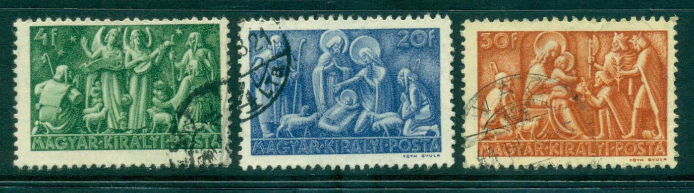 Hungary 1943 Message to the Shepherds FU lot37520