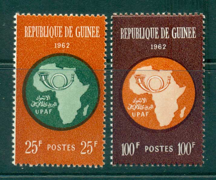 Guinee 1962 African Postal Union MLH lot38398