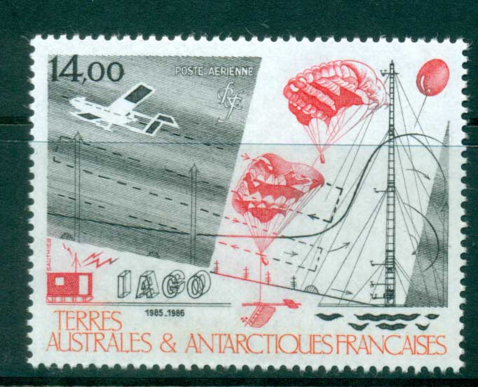 French Antarctic Territory 1986 Antarctic Atmospheric Research MUH lot38649