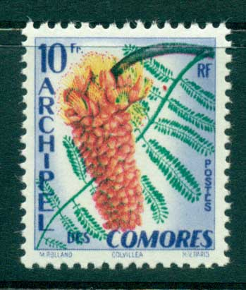 Comoro Is 1959 Flower MUH lot38748