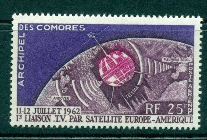 Comoro Is 1962 Telstar MLH lot38752