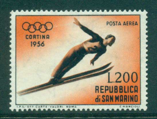 San Marino 1955 Ski Jumper MLH lot40312