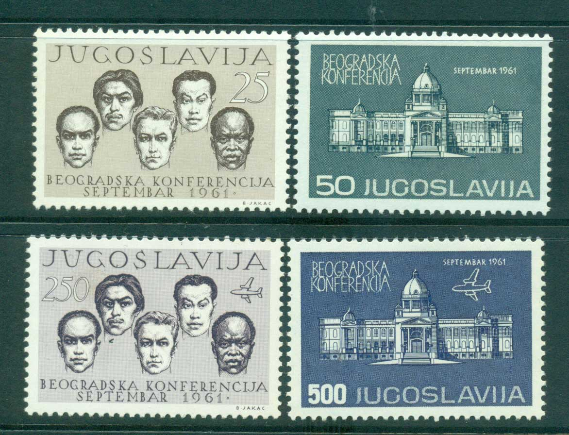 Yugoslavia 1961 Non Aligned Nations MLH lot40492