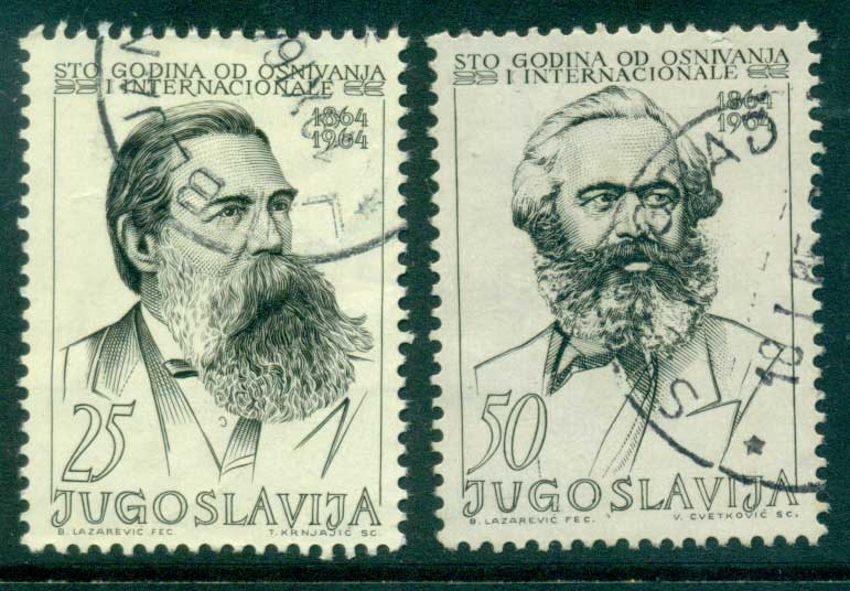 Yugoslavia 1964 Socialist International FU lot40527