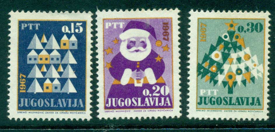 Yugoslavia 1966 New year (litho) MLH lot40567