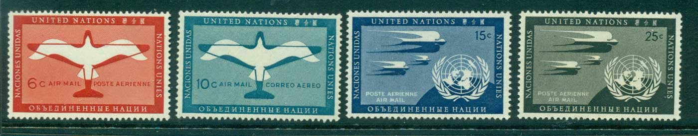 UN New York 1951 Air mail MUH lot40854