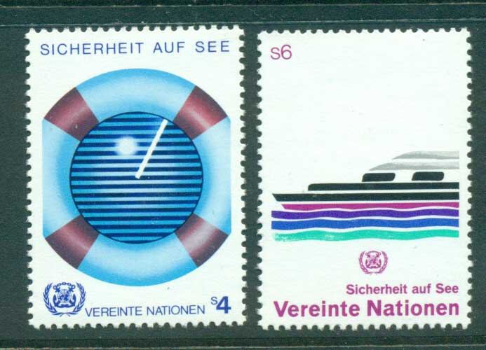 UN Vienna 1983 Safety at Sea MUH lot41003