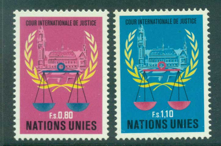 UN Geneva 1979 International Court of Justice MUH lot41007