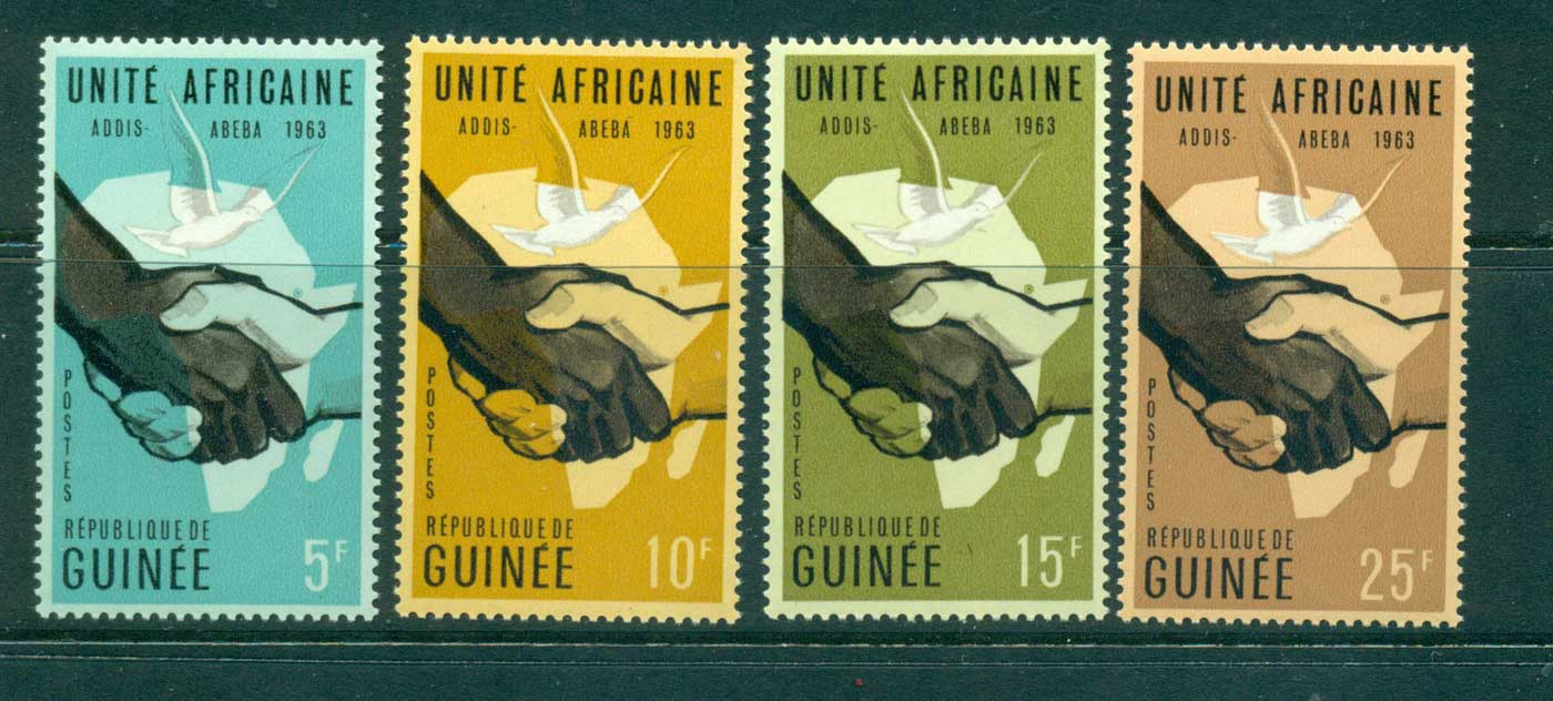 Guinee 1963 Heads of State Conf. MUH lot41636