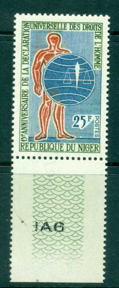 Niger 1963 Human Rights MUH lot41660