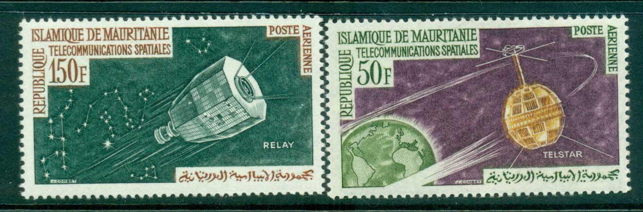 Mauritania 1963 Communication through Space telstar MUH lot41684