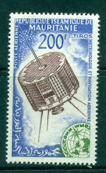 Mauritania 1963 Space satellite Meterology MUH lot41685