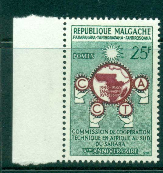 Madagascar 1960 CCTA MUH lot41693
