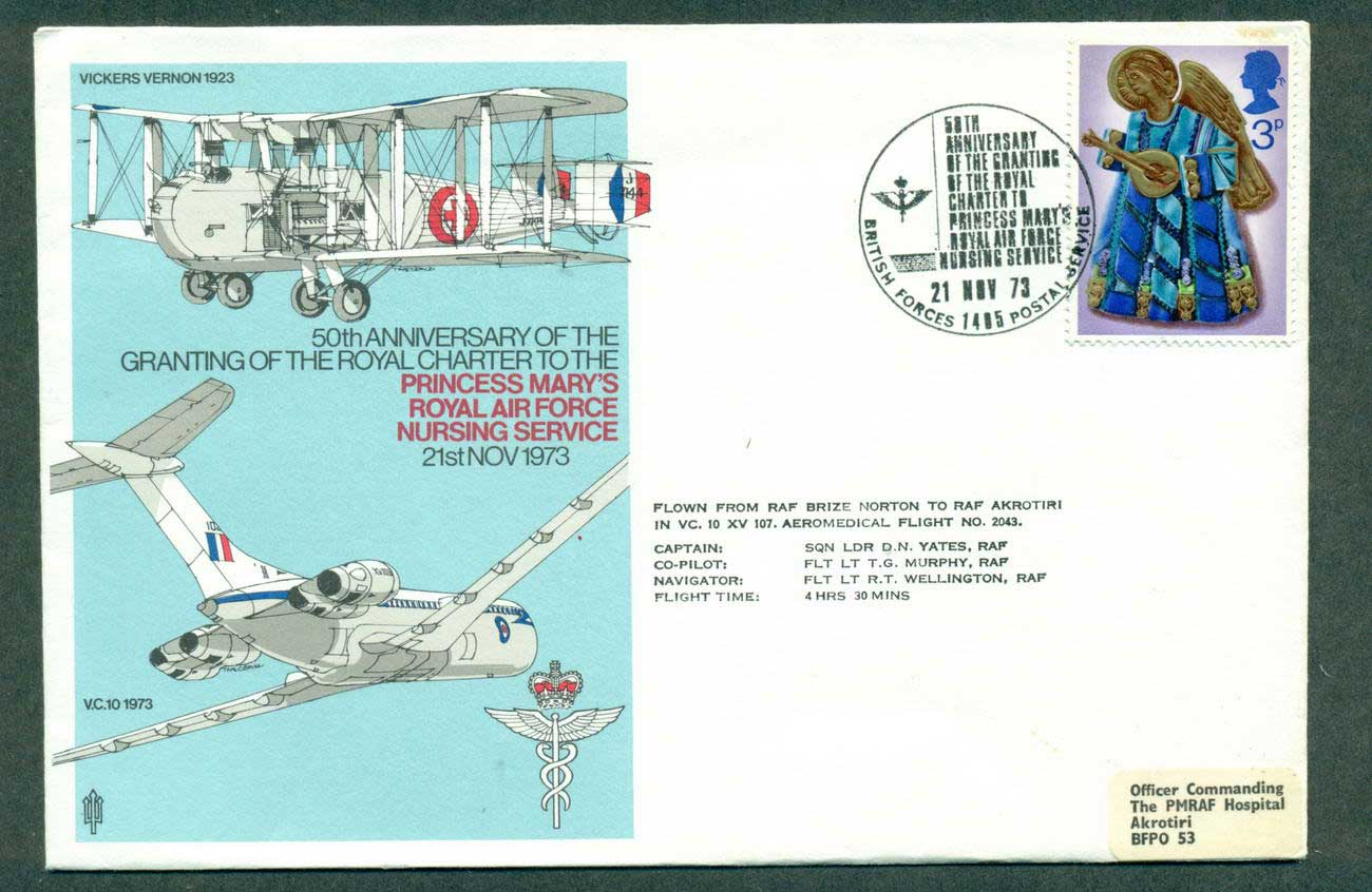 GB 1973 Princess Mary's RAF Nursing Service lot42690