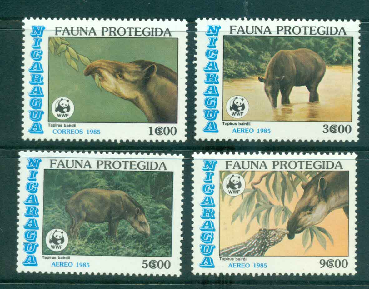 Nicaragua 1985 Protected Wildlife MLH lot43181