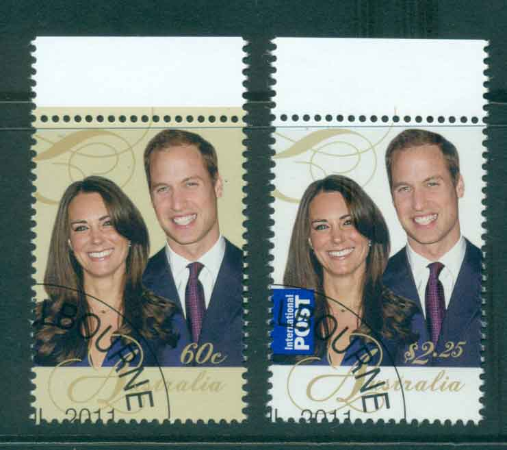 Australia 2011 Royal Wedding (2)(MUH) CTO lot43247
