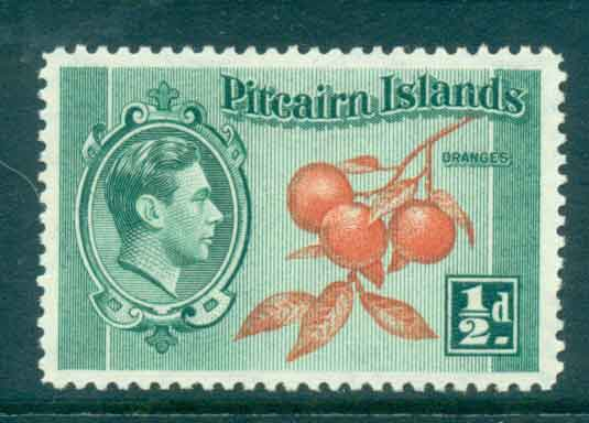Pitcairn Is 1940-51 �d KGVI Definitive MH lot43287