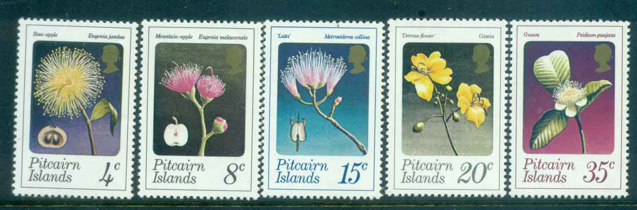 Pitcairn Is 1973 Flowers MUH lot4334