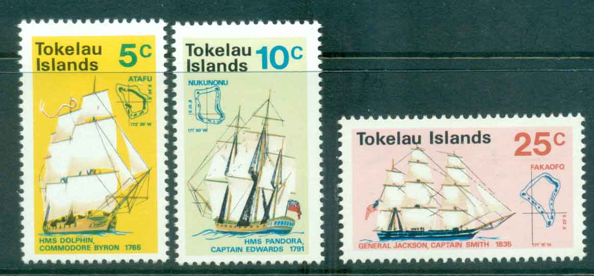 Tokelau Is 1970 Discovery of Tokelau MLH lot43421