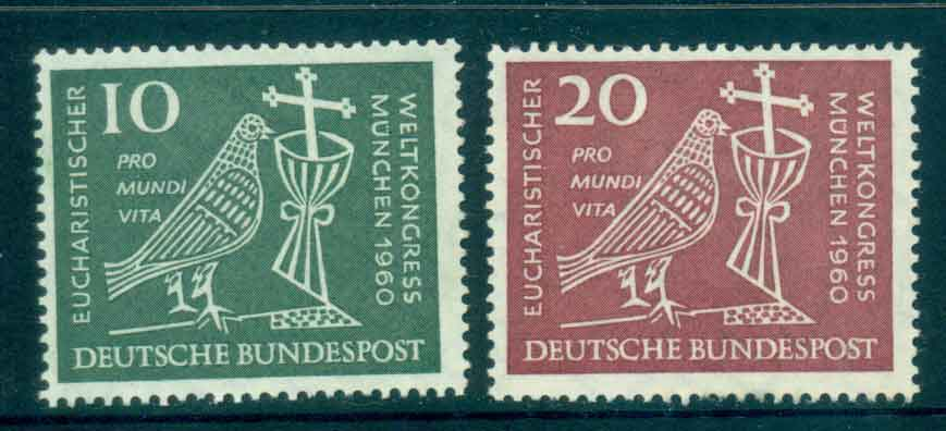 Germany 1960 Eucharistic Congress MLH lot43878