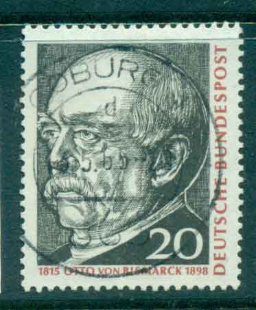 Germany 1965 Otto von Bismark FU lot43941
