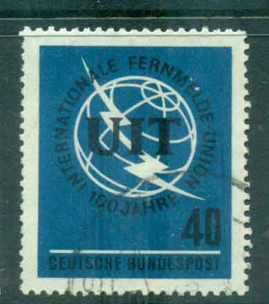 Germany 1965 ITU Centenary FU lot43943