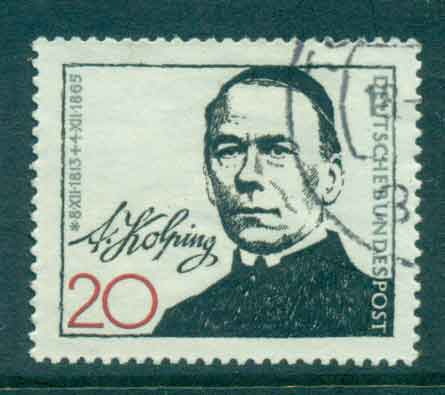 Germany 1965 Adolph Koping FU lot43945