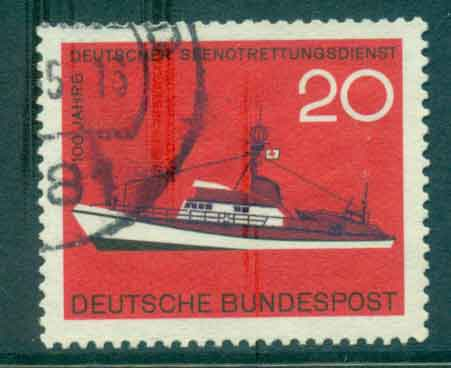 Germany 1965 Sea Rescue Service FU lot43947