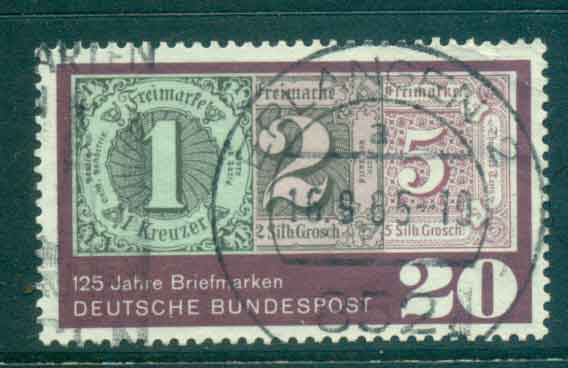 Germany 1965 GB Stamp Anniversary FU lot43954