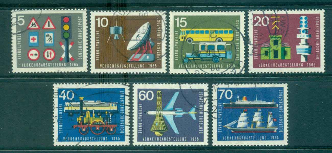 Germany 1965 Transport & Communications FU lot43956