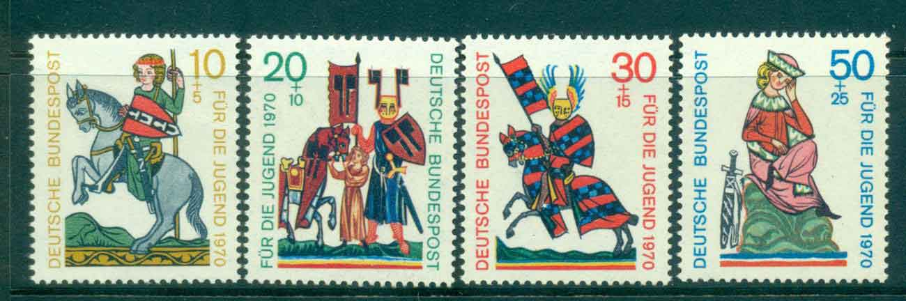 Germany 1970 Welfare Knights MLH lot44038