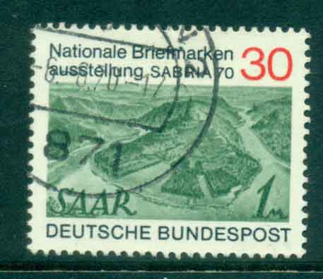 Germany 1970 Sabria Stamp Ex FU lot44104