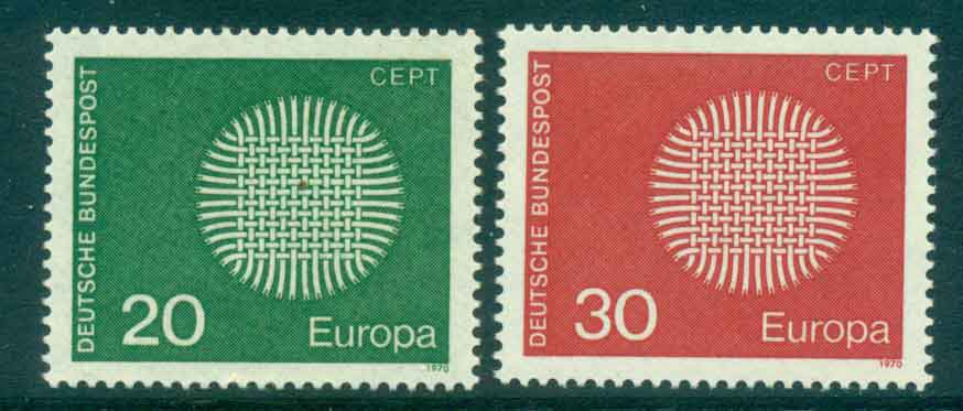 Germany 1970 Europa MUH lot44105