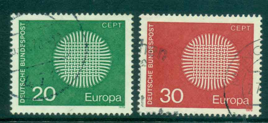 Germany 1970 Europa FU lot44106