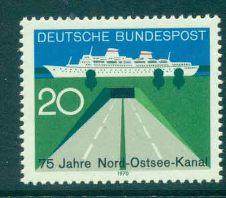 Germany 1970 Baltic Sea Canal MUH lot44107