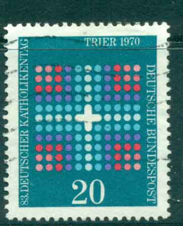 Germany 1970 German Catholics FU lot44114