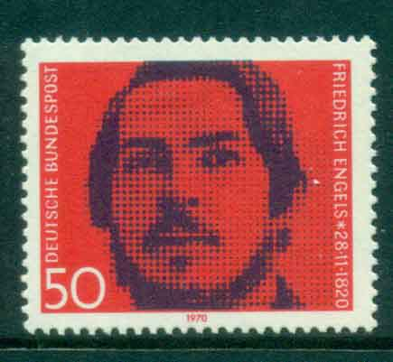 Germany 1970 Friedrich Engels MLH lot44117