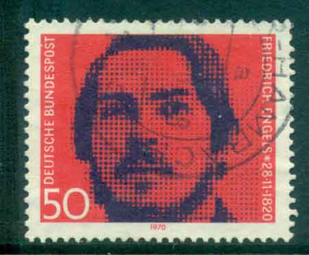 Germany 1970 Friedrich Engels FU lot44118