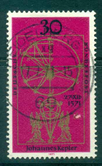 Germany 1971 Catholic Church Fu lot44143