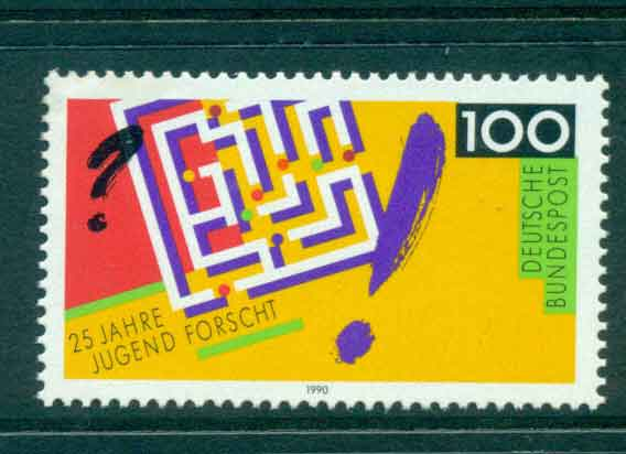 Germany 1990 Youth Science MUH lot44435