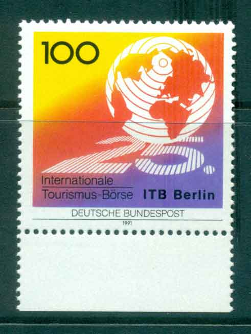 Germany 1991 Tourism MUH lot44471