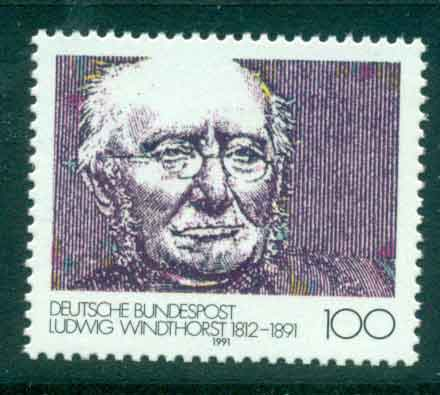 Germany 1991 Ludwig Windhorst MUH lot44474
