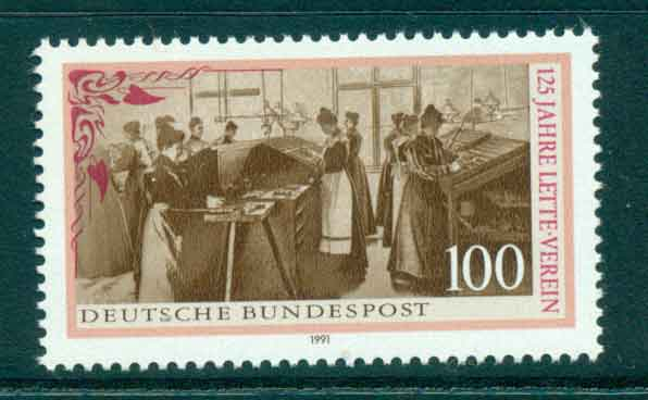 Germany 1991 Lette Foundation MUH lot44479