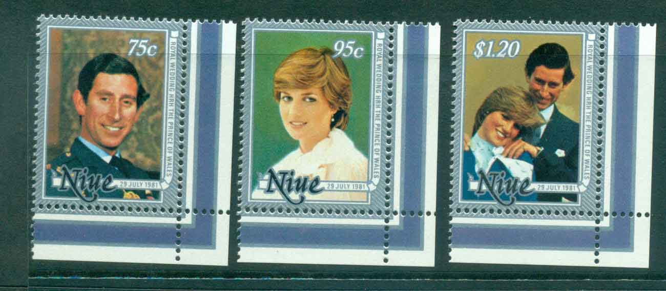 Niue 1981 Charles & Diana Wedding MUH Lot45123