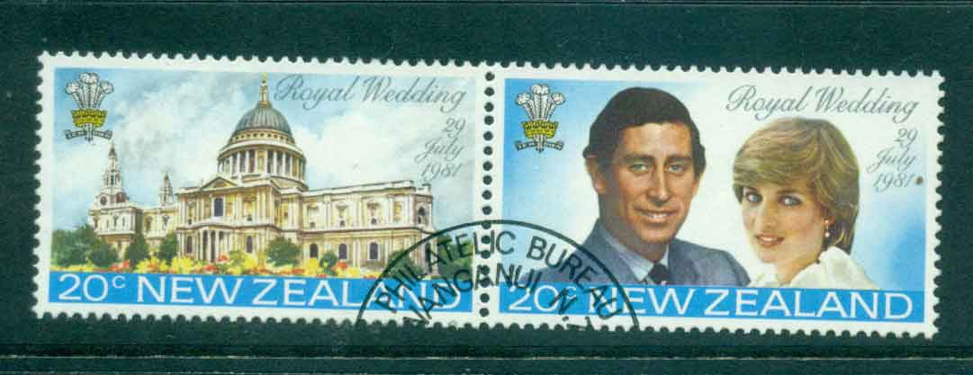 New Zealand 1981 Charles & Diana Wedding pr FU Lot45136