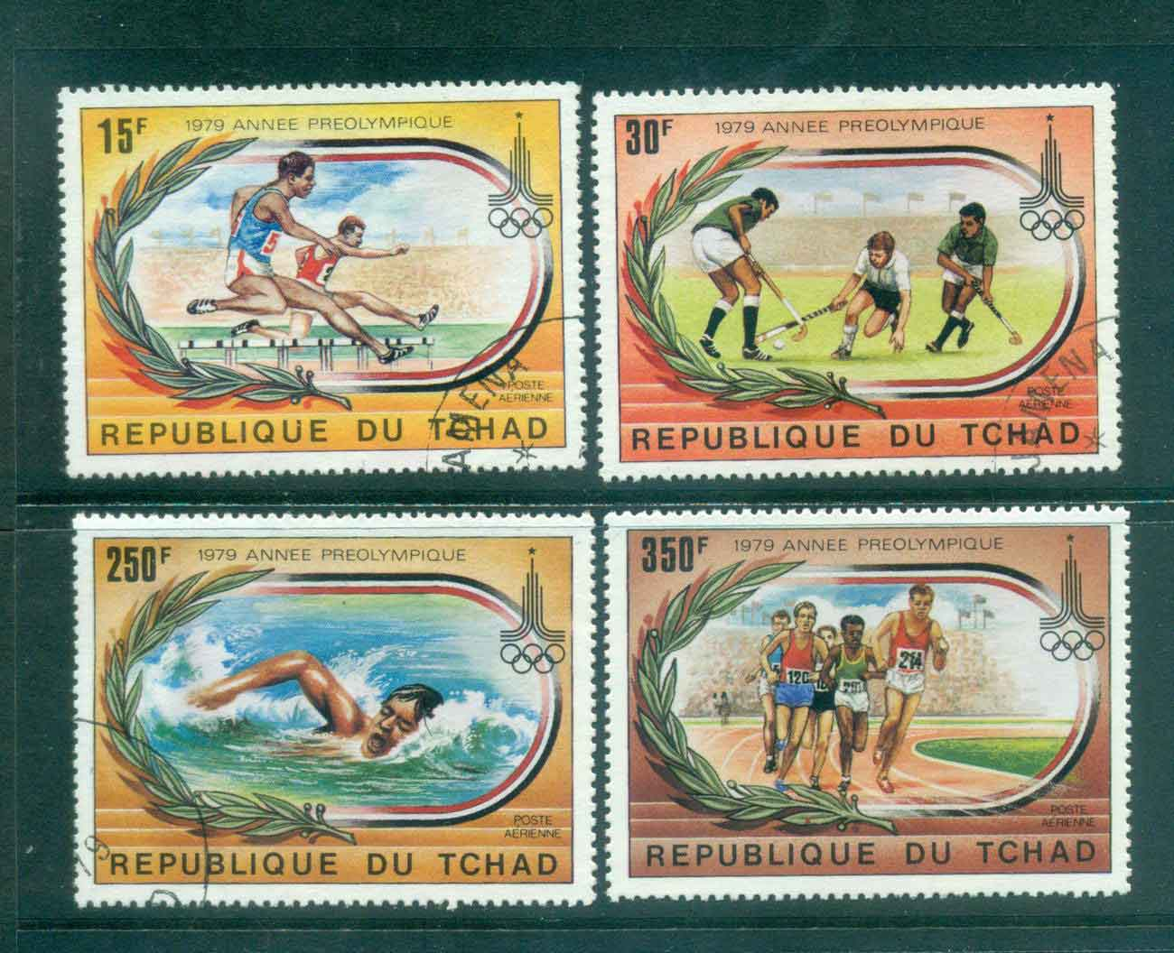 Chad 1979 Pre- Olympic Year CTO Lot46355