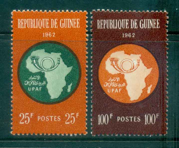 Guinee 1962 African Postal Union MLH Lot46372