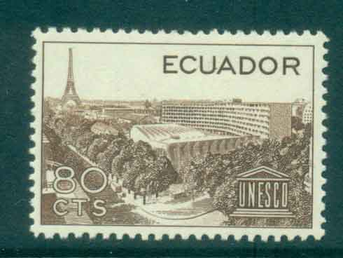 Ecuador 1958 UNESCO MLH Lot46715