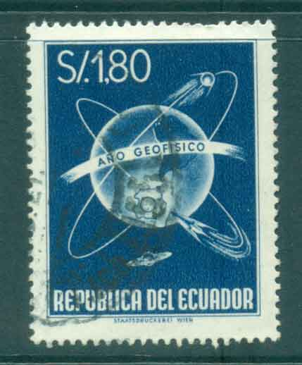 Ecuador 1958 Geophysical year FU Lot46717