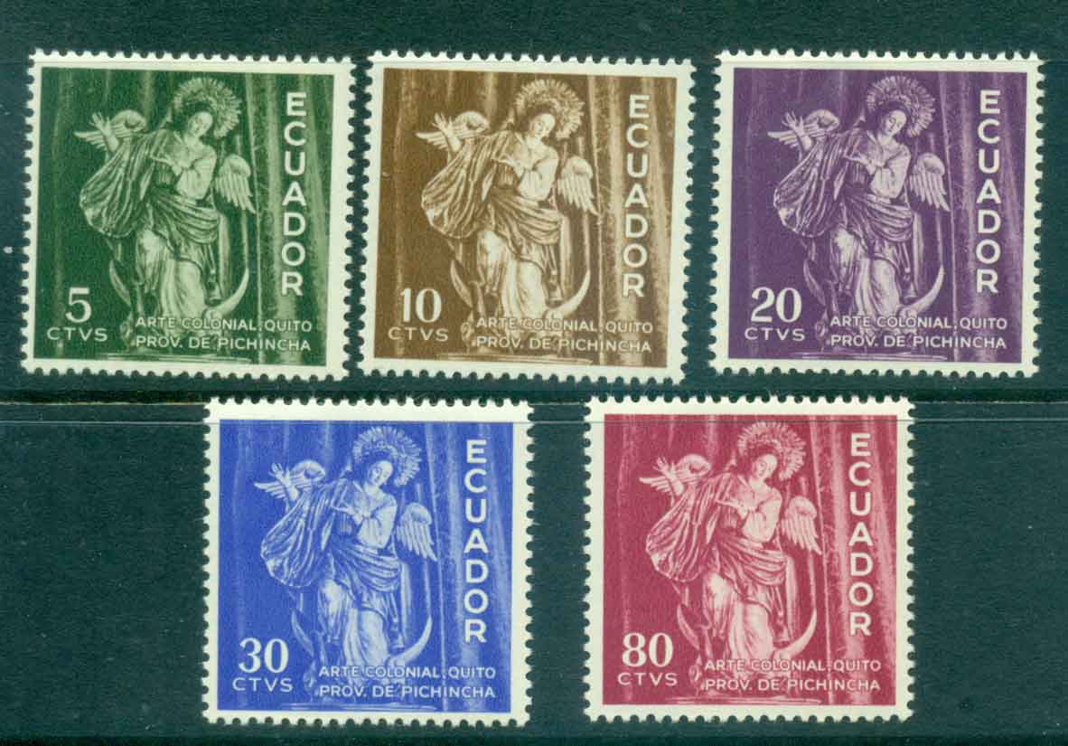 Ecuador 1959 Virgin of Quito MLH Lot46720
